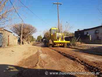 Continúan los arreglos de calles en la ciudad de San Pedro de Guasayán - Nuevo Diario de Santiago del Estero