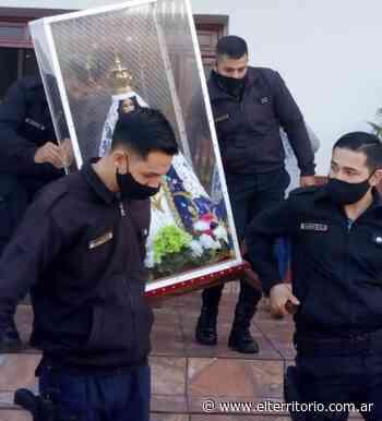 San Pedro: Con una misa, realizaron el cierre de la visita de la Virgen de Itatí - EL TERRITORIO