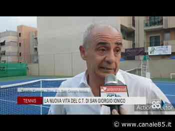 Tennis | La nuova vita del C.T. di San Giorgio Ionico - Canale 85
