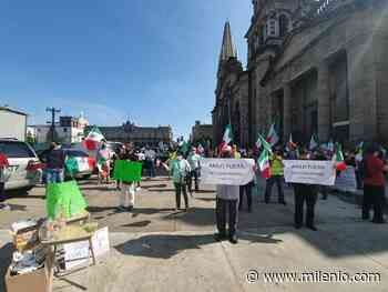 Frena anti AMLO se manifiestan en Guadalajara, piden salida del presidente - Milenio