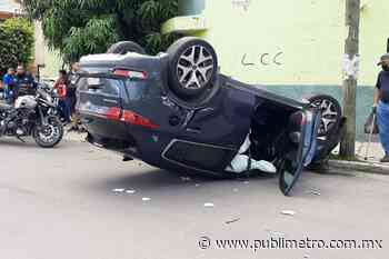 Se registran cuatro accidentes esta mañana en la Zona Metropolitana de Guadalajara - Publimetro México