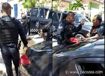 Captan a policías golpeando a un hombre en Guadalajara #VIDEO - PacoZea.com