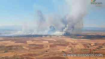 Un incendio entre Madrid y Guadalajara obliga a evacuar dos urbanizaciones - El Español
