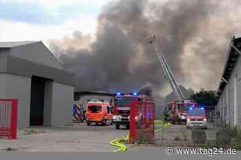 Feuer-Drama in Magdeburg: Lagerhallenbrand verursacht über 2 Millionen Euro Schaden - TAG24