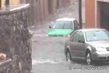 Afecta lluvia intensa en San Miguel de Allende #VIDEO - PacoZea.com