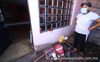 Lo pierden casi todo en Lomas de San Miguel, lluvias inundan viviendas - El Sol de Puebla