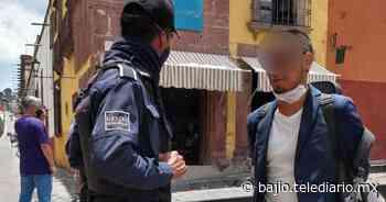 Arrestan a turista por negarse a usar cubrebocas en San Miguel de Allende - Telediario Bajio