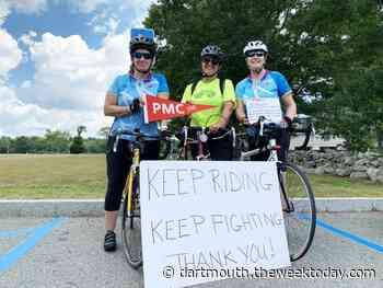 Dartmouth resident rides 89 miles for a cure in 2020 Pan-Mass Challenge - Dartmouth Week