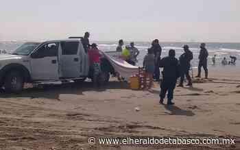 Por desacato, arrestan a 11 bañistas en playas de Paraíso - El Heraldo de Tabasco