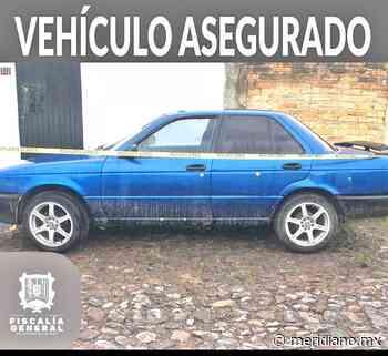 En la colonia Ampliación El Paraíso encuentran Nissan robado - Meridiano.mx