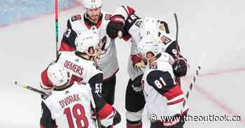 Coyotes hold off Predators 4-3 in series opener - The Outlook