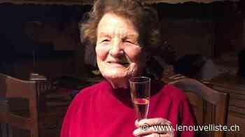 Hortense Gex-Fabry, née Perrin, a fêté ses cent... - Le Nouvelliste