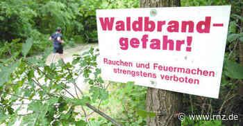 Eberbach: Grillplätze im Wald sind ab sofort gesperrt - Rhein-Neckar Zeitung