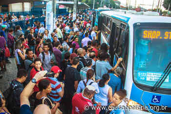 Ônibus superlotados em Niteroi coloca em risco vida dos trabalhadores | DCO - Causa Operária