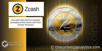 Zcash (ZEC) Sixth Hard Fork Completed Successfully Achieves Success with Private Coinbase Transactions - The Cryptocurrency Analytics