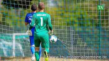 FC Rot-Weiß Erfurt: Sorgen um die Tauglichkeit - Thüringer Allgemeine