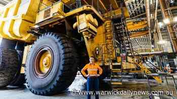 Mining giant's plan to recycle mega 5 tonne wheels - Warwick Daily News