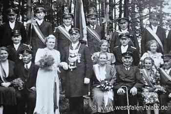 Johannes Waldhoff aus Steinheim erinnert an Geschichte der Historischen Schützenvereine während NS-Zeit: Nur die Schützenkette war erlaubt - Westfalen-Blatt
