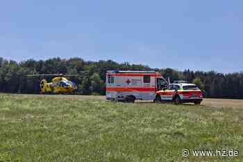 Unfall auf Feld in Steinheim: 69-jähriger Landwirt wird von Anhänger überrollt und stirbt kurze Zeit später - Heidenheimer Zeitung