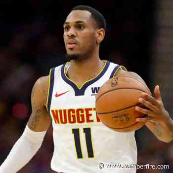Nuggets starting Monte Morris for injured Jamal Murray (hamstring) on Saturday - numberFire
