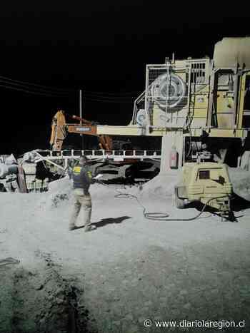 PDI investiga muerte de trabajador minero ocurrida en Illapel. - http://www.diariolaregion.cl