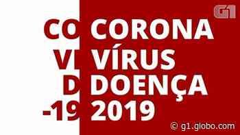 Americana tem mais 4 mortes pelo novo coronavírus; nº de infectados vai a 2.231 - G1