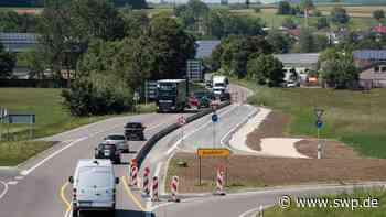 Verkehrsbehinderung in Metzingen: Arbeiten an B 312 werden fortgesetzt - SWP