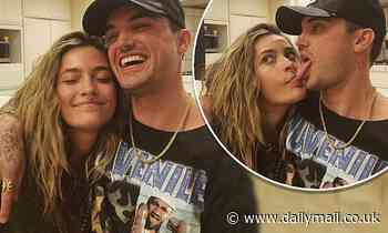 Paris Jackson puts on a playful display with her tongue out - Daily Mail