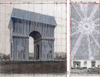 Even After His Death, Christo Has The Power To Enrapture Paris By Wrapping The Arc De Triomphe - Forbes