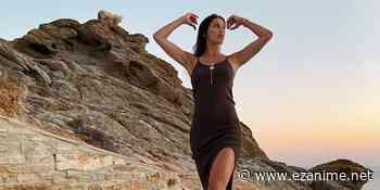¡Iris Mittenaere lista para nadar con ovejas en Grecia! - EZAnime