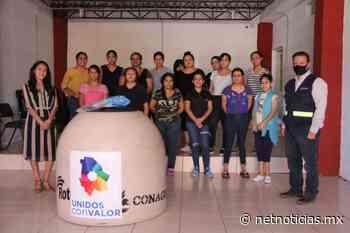 Dona JMAS tinaco a centro de rehabilitación - Estatal - Netnoticias