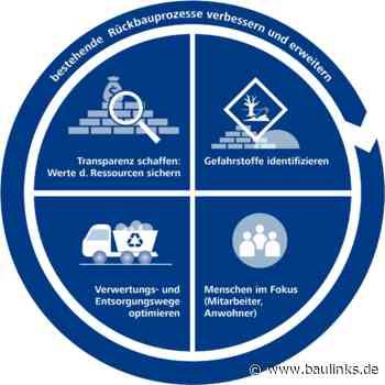 Neues DGNB-Zertifikat widmet sich dem Ressourcenschutz beim gezielten Rückbau von Gebäuden