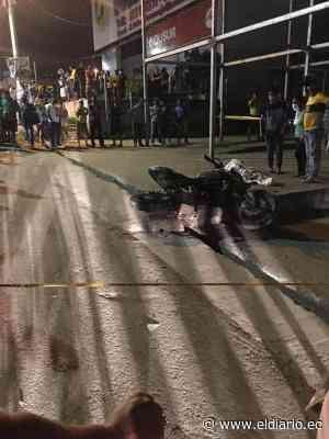 Mantense murió en un accidente de tránsito en Pedernales - El Diario Ecuador