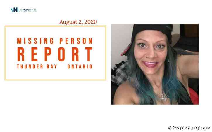 August 2, 2020 – Missing 41-Year-Old Woman