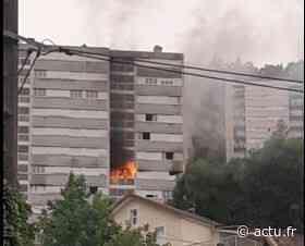 Jura. Début d'incendie à Saint-Claude au 6e étage d'un bâtiment inoccupé dans le quartier des Avignonnets - actu.fr