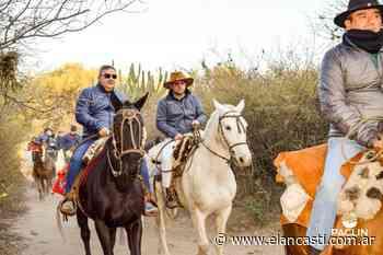 El Gobernador recorrió el Camino Real, desde Piedra Blanca a La Bajada - El Ancasti Editorial