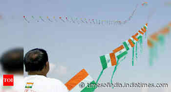 Discom alert on kite flying during Independence Day in Delhi - Times of India
