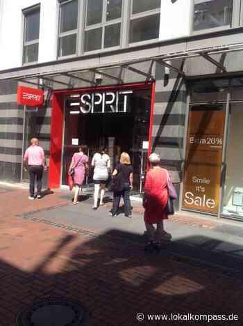 Geschäftsaufgabe in Hilden: Esprit schließt Filiale - Hilden - Lokalkompass.de