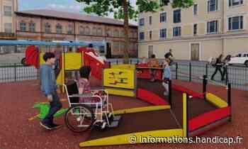 Grenoble déploie ses aires de jeu accessibles en ville - Handicap.fr