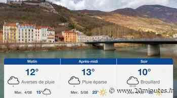 Météo Grenoble: Prévisions du lundi 3 août 2020 - 20minutes.fr