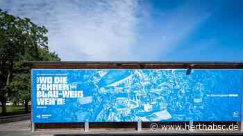 Hertha BSC präsentiert neue Hausschrift