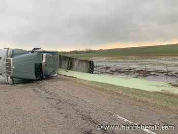 Charges laid in Semi-Truck Half-Ton Collision - Hanna Herald