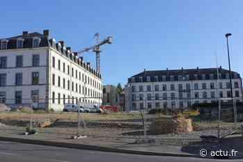 Laval : douze ans après l'annonce de la fermeture du 42e RT, le quartier Ferrié est en pleine transformation - actu.fr