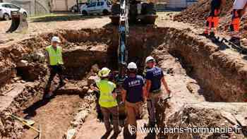EN IMAGES. À Vernon, la découverte d'ossements et de sépultures est une longue histoire - Paris-Normandie