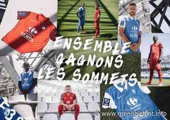 [Sondage] : Vous appréciez très majoritairement les nouveaux maillots du GF38 - Grenoble Foot Info - Grenoble Foot Info
