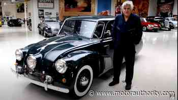 """""""Jay Leno's Garage"""" features a 1938 Tatra T87 that became a World War II hero - Motor Authority"""