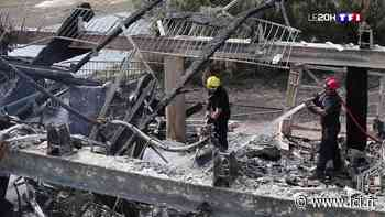 Feu de forêt à Anglet : les pompiers encore mobilisés aujourd'hui pour éteindre les derniers foyers - LCI