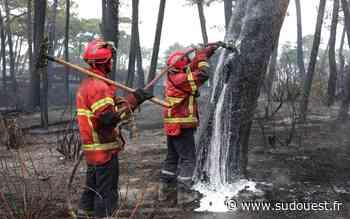 En images : l'incendie d'Anglet, le jour d'après - Sud Ouest