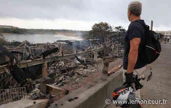 La Maison de l'environnement à Anglet détruite par l'incendie - Moniteur