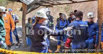 La ardua tarea por rescatar a los 9 mineros de El Zulia - La Opinión Cúcuta
